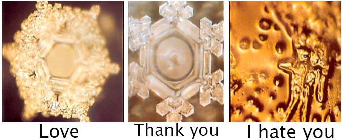 Water Crystals Masaru Emoto