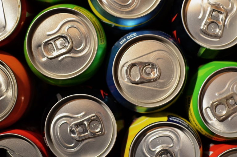 Soda Cans image