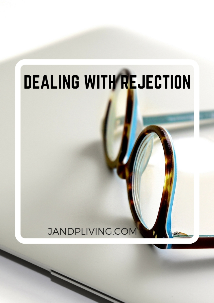 DEALING WITH REJECTION blog post pic