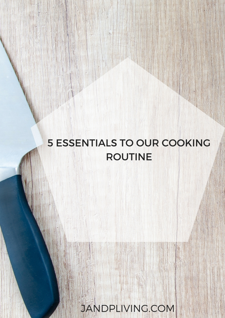 COOKING ROUTINE
