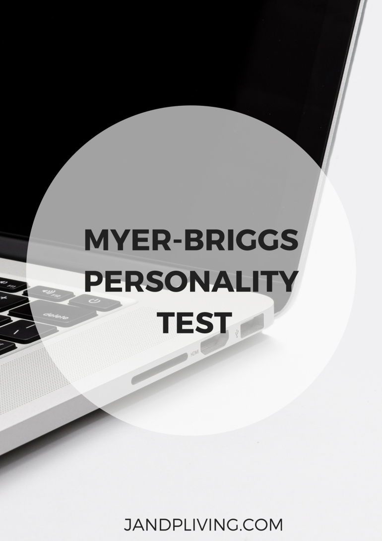 MYER-BRIGGS PERSONALITY TEST SC