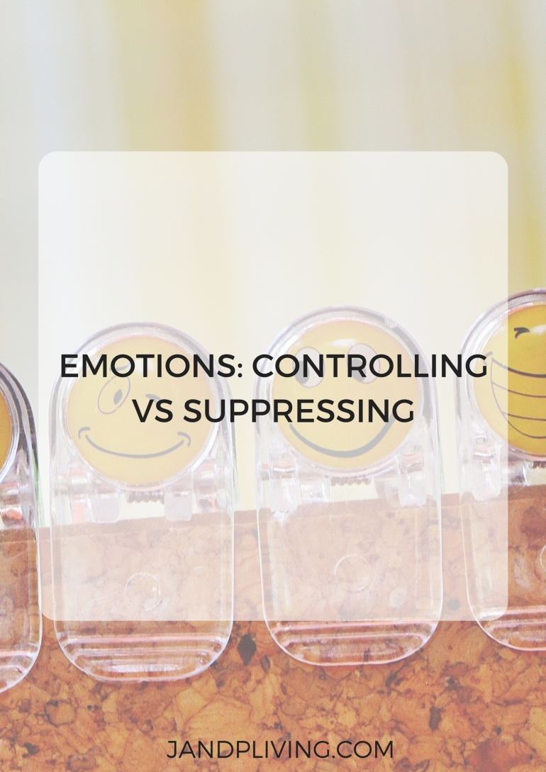 Emotions: Controlling vs Suppressing