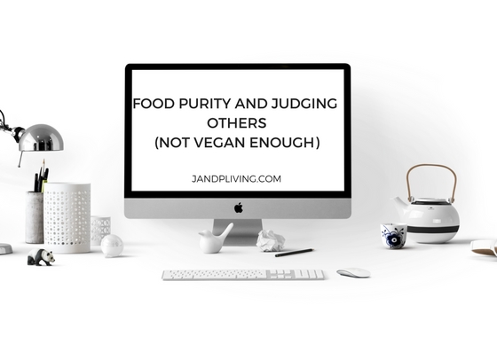 Food Purity and Judging Others SC