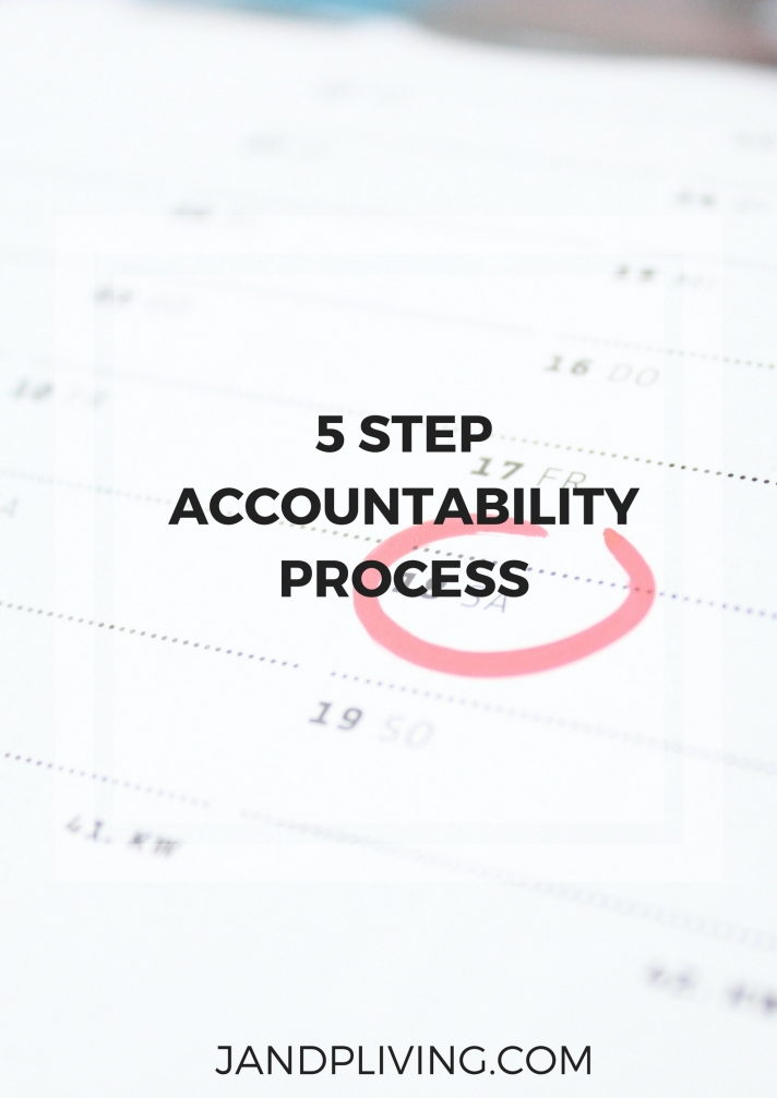 5 STEP ACCOUNTABILITY PROCESS SC